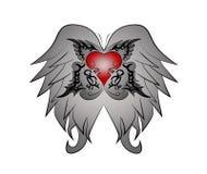 部族的翼心脏 皇族释放例证