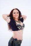 部族的舞蹈演员 免版税库存照片