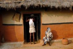 部族的贫穷 免版税库存图片