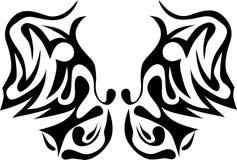 部族的蝴蝶 免版税库存图片