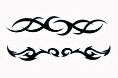 部族的tatoo 库存照片