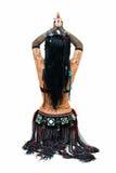 部族舞蹈演员的形象 免版税库存图片
