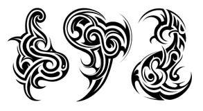 部族艺术的纹身花刺 免版税图库摄影
