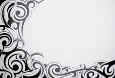部族艺术的装饰品 免版税库存照片