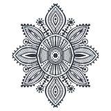 部族艺术boho手拉的几何样式 库存图片