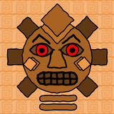 部族设计的图腾 免版税库存图片