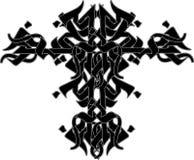 部族设计的纹身花刺 库存例证