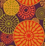 部族,非洲,简单的无缝的样式 库存图片