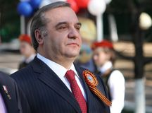 部的部长俄罗斯联邦的紧急情况 免版税库存照片