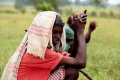 部落jharkhand 免版税库存图片