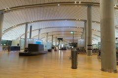 部门终端,加勒穆恩机场,奥斯陆,挪威内部  库存照片