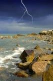 都伯林海岸 库存照片