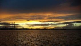 都伯林海岸  图库摄影