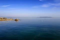 都伯林海湾,都伯林,爱尔兰 免版税库存图片