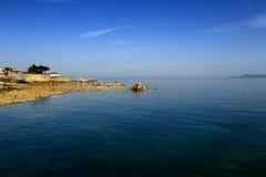 都伯林海湾,都伯林,爱尔兰 图库摄影