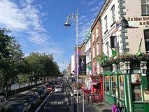 都伯林,其中一个最美丽的城市在爱尔兰 免版税库存照片