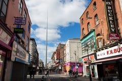 都伯林,爱尔兰尖顶  免版税库存照片
