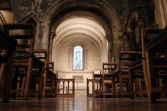 都伯林,爱尔兰- 2018年2月22日:基督教会内部2月22日的在都伯林 基督教会是配音的主要大教堂 库存图片