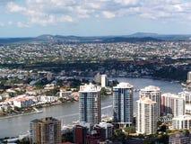 都市中心的城市 库存图片