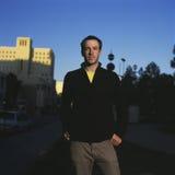 都市人的纵向 免版税库存照片