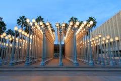 都市光,洛杉矶 免版税库存照片