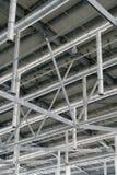 技术先锋的建筑风格 免版税库存图片