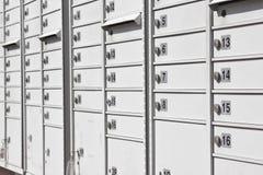 都市公共邮箱 免版税库存照片