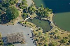 都市公园在东京,日本 库存图片