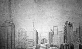 都市发展项目 免版税库存照片