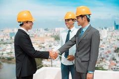 都市合伙企业 免版税库存照片