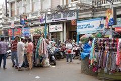 都市场面在加尔各答,印度 库存照片