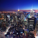 都市城市的地平线 库存照片