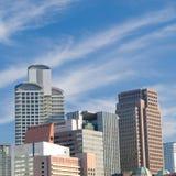 都市城市的场面 免版税库存图片