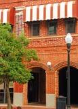 都市壁角的街道 免版税图库摄影