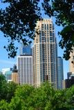 都市大厦的办公室 免版税库存图片