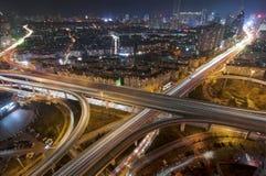 都市天桥 免版税库存图片