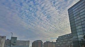 都市天空 免版税库存照片