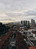 都市布卡拉曼加 图库摄影