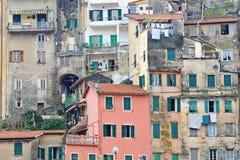 都市意大利的场面 库存图片