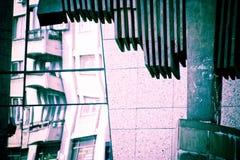 都市抽象的结构 免版税库存照片