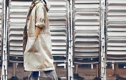 都市样式时尚 免版税库存照片