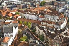 都市欧洲的横向 免版税库存照片