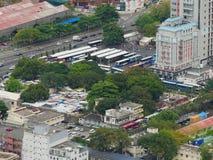 都市毛里求斯的概略的看法 库存照片