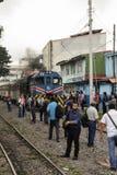 都市火车在圣何塞哥斯达黎加 图库摄影
