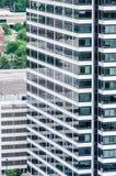 都市现代大厦建筑学  库存照片