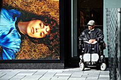 都市生活在鹿特丹14 免版税库存图片