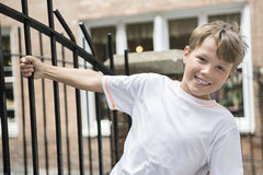 都市男孩 免版税图库摄影