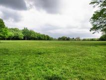 都市的公园 免版税库存图片