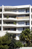 都市的公寓 免版税图库摄影