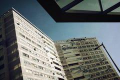 都市的几何 库存照片